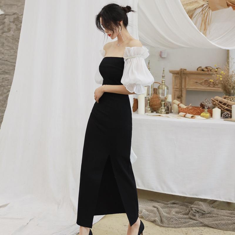 ခေတ်ပေါ်အမိုက်စားဒီဇိုင်းလန်းများဖြင့်ပုံဖော်ထားသော အမျိုးသမီးပွဲတက်ဝတ်စုံ